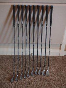 Custom golf clubs built to True Length Technology